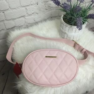 Rampage Baby Pink Waist Pack